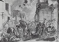 The Last Day of Pompeii , 1830, bryullov