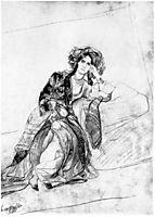 M.P. Volkonskaia, 1840, bryullov