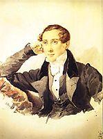 Male Portrait, 1829, bryullov