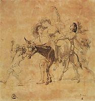 A Merry Return, 1830, bryullov
