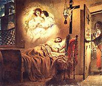 Nun-s Dream, 1831, bryullov