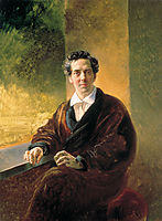 Portrait of Count A. A. Perovsky (the Writer Anton Pogorelsky), 1836, bryullov