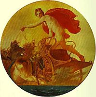Pheb in His Chariot, bryullov