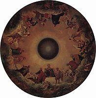 Plafond, 1847, bryullov