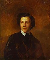 Portrait of A. A. Abaz, 1850, bryullov
