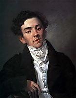 Portrait of the Actor A. N. Ramazanov, 1821, bryullov