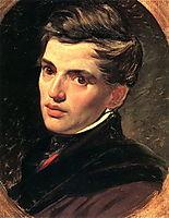 Portrait of Alexander Bruloff, 1827, bryullov