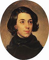 Portrait of an Architect I.A. Monighetti, 1840, bryullov
