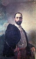 Portrait of Angelo Tittoni, 1852, bryullov