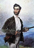 Portrait of Antonio Tittoni, 1852, bryullov