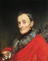 Portrait of the Archeologist Michelangelo Lanci, 1851, bryullov