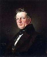 Portrait of the architect A. Bolotov, 1843, bryullov