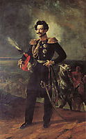 Portrait of Count V. A. Perovsky, 1837, bryullov