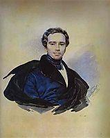 Portrait of F. F. Golytzin, 1833, bryullov