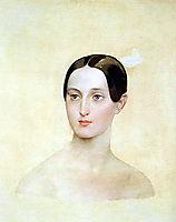Portrait of Grand Duchess Maria Nikolaevna, 1837, bryullov