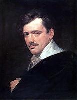 Portrait of A. N. Lvov, 1824, bryullov