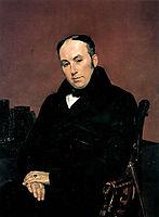 Portrait of V. A. Zhukovsky, 1837, bryullov