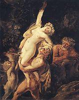 Satyr and Bacchante (Bacchanalia), 1824, bryullov