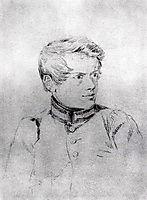 Self-portrait, 1816, bryullov