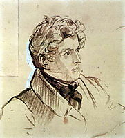 Self-portrait, 1833, bryullov