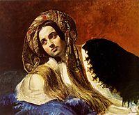 A Turkish Girl, 1838, bryullov
