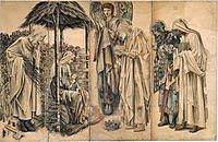 The Adoration of the Magi, burnejones