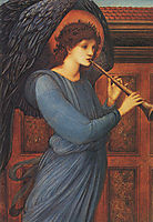 Angel, burnejones