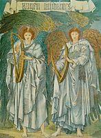 Angeli Laudantes, burnejones