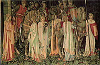 The Arming and Departure of the Knights, 1894, burnejones