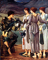 The Arming of Perseus, 1885, burnejones