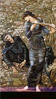 The Beguiling of Merlin (Merlin and Vivien), 1874, burnejones