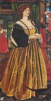 Clara von Bork, 1860, burnejones