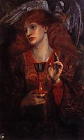 The damsel of the Sanct Grail, burnejones