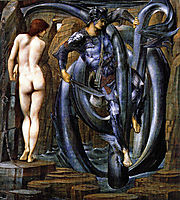 The Doom Fulfilled, 1885, burnejones