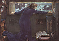 Dorigen of Britain Waiting for the Return of Her Husband, 1871, burnejones