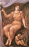 Earth Mother, 1882, burnejones