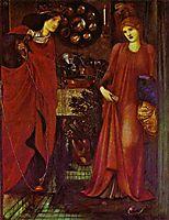 Fair Rosamond and Queen Eleonor, burnejones