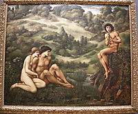 The Garden Of Pan, 1887, burnejones