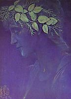 Girl-s Head, 1897, burnejones