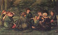 Green Summer, 1868, burnejones