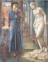 The Hand Refrains, 2nd series, Pygmalion, 1878, burnejones