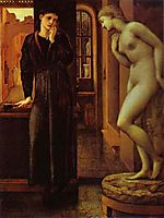The Hand Refrains. The Pygmalion Series, 1870, burnejones
