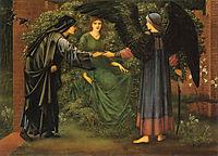 Heart of the Rose, 1889, burnejones