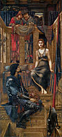King Cophetua and the Beggar Maid, 1884, burnejones