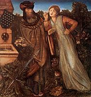 King Mark and La Belle Iseult, burnejones