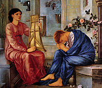 The Lament, 1866, burnejones