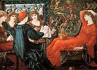 Laus Veneris, 1868, burnejones