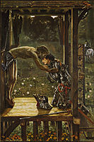 The Merciful Knight, 1863, burnejones