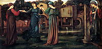 The Mill, 1882, burnejones