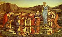 The Mirror of Venus, burnejones